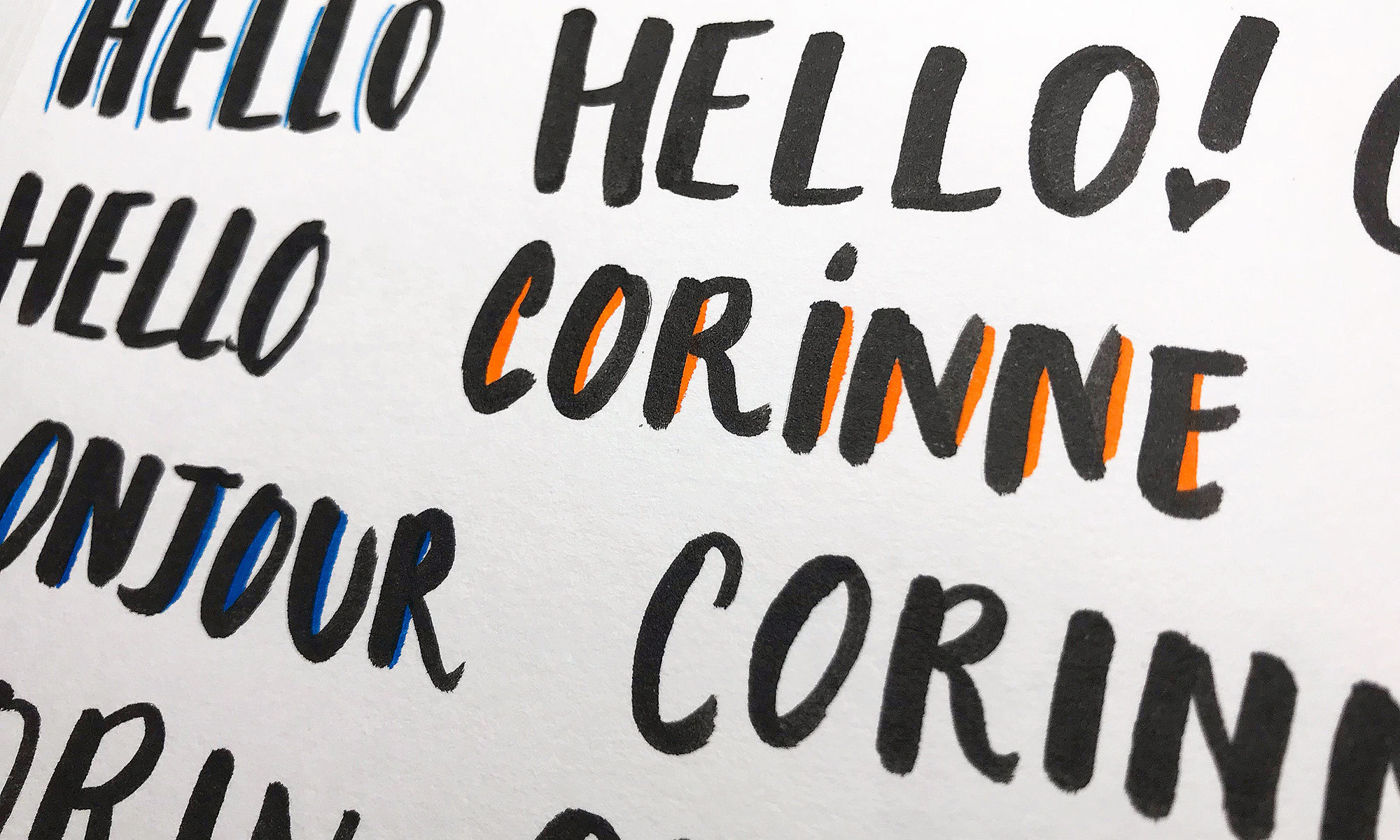 Made By You - blog post - calligraphy or lettering